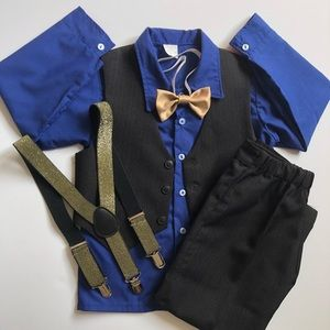 Other - Boys' Dance Outfit & accessories - Toddler Size 4